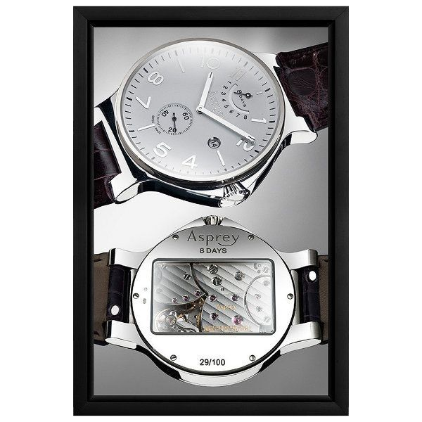 11x17 Slide In Frame - 0,93 inch Black Mitred Profile Single Sided