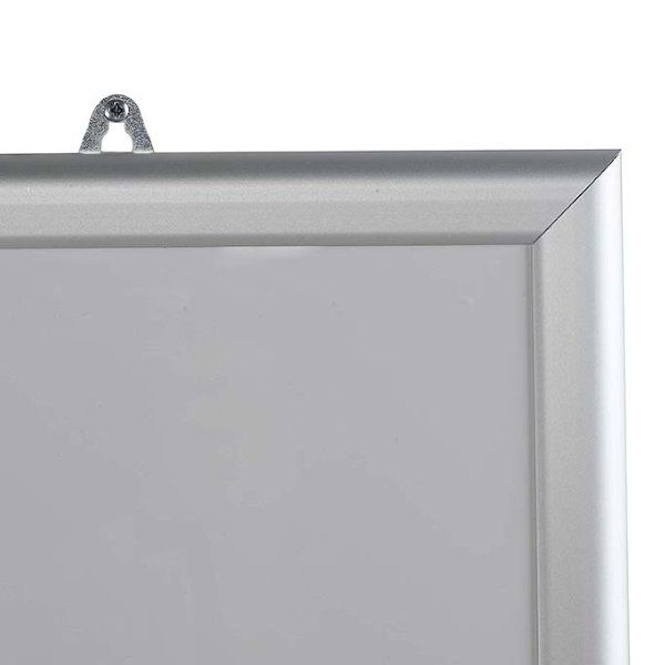 "18""w x 24""h Write On Board Dry Wipe Aluminum Frame, White Surface"