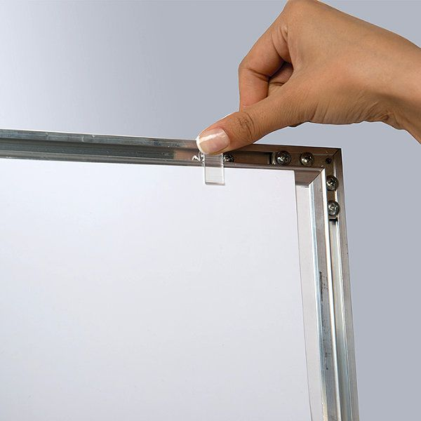 """22""""w x 28""""h Universal Poster Showboard Single Lock, Outdoor Use"""