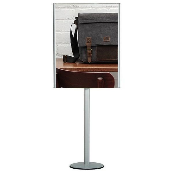 """24""""w x 36""""h Convex Box Poster Display Stand Without Lighting"""