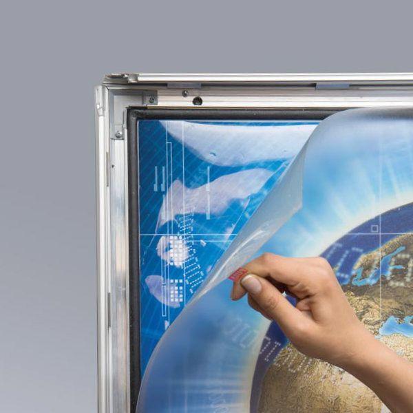 "26"" x 36"" Lockable Weatherproof Smart LED Light Box 1.38"" Profile"