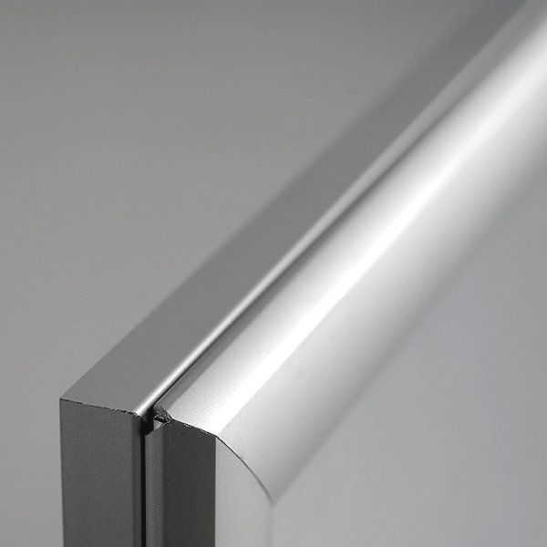 "30""w x 40""h Smart Poster LED Light Box 1"" Silver Aluminium Profile"