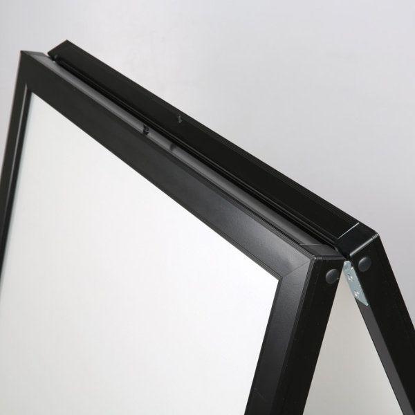 30x40 Slide-in A Frame Board Black Sidewalk Sign