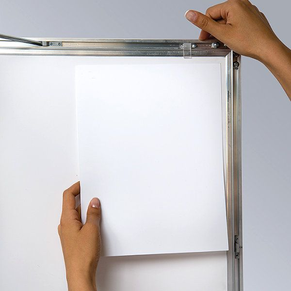 """36""""w x 48""""h Universal Poster Showboard Single Lock, Outdoor Use"""