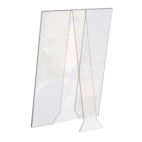 "4""w x 6""h Acrylic Picture Frame & Sign Holder"