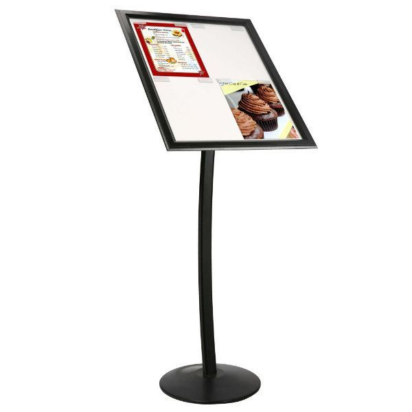"4x(8.5"" x 11"") Paper & Poster Board Sign Black"