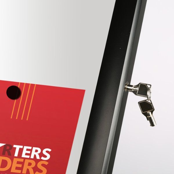 "4x(8.5""x11"") Poster Showboard With Magnet Landscape/Portrait"