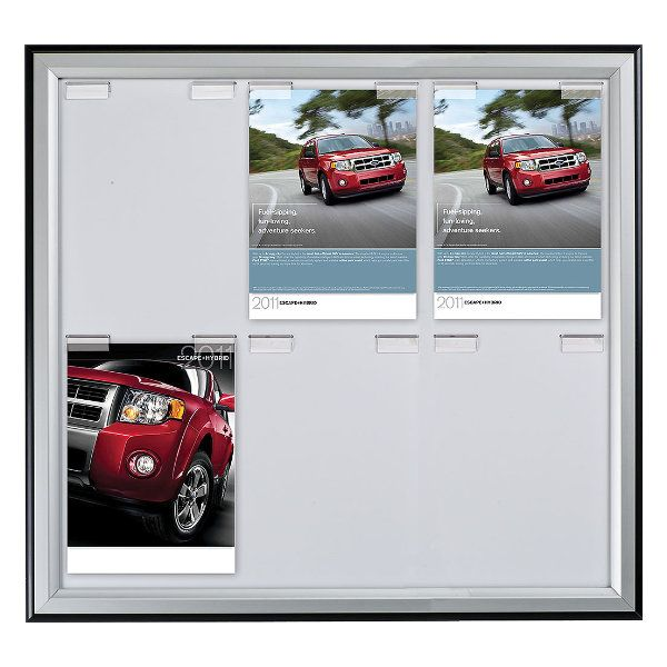 6x(8.5x11) Paper Board Frame Poster Capacity