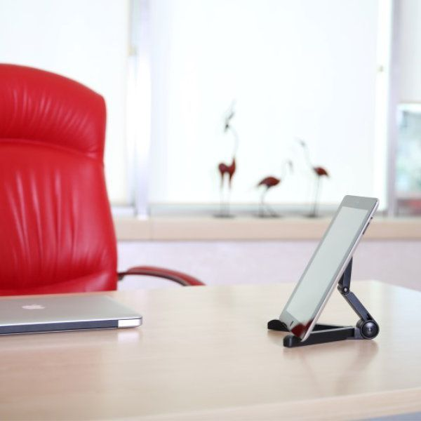 """7""""- 10"""" Tablet Stand Fit for iPad/iPad 2 & Tablets PC, Black"""