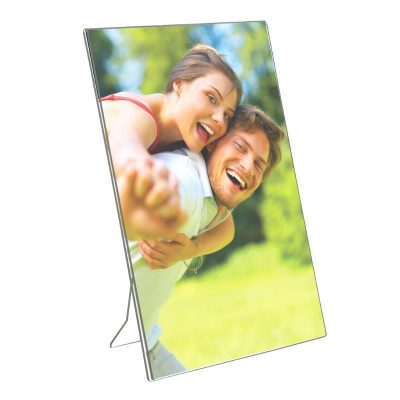"8.5""w x 11""h Acrylic Picture Frame & Sign Holder"