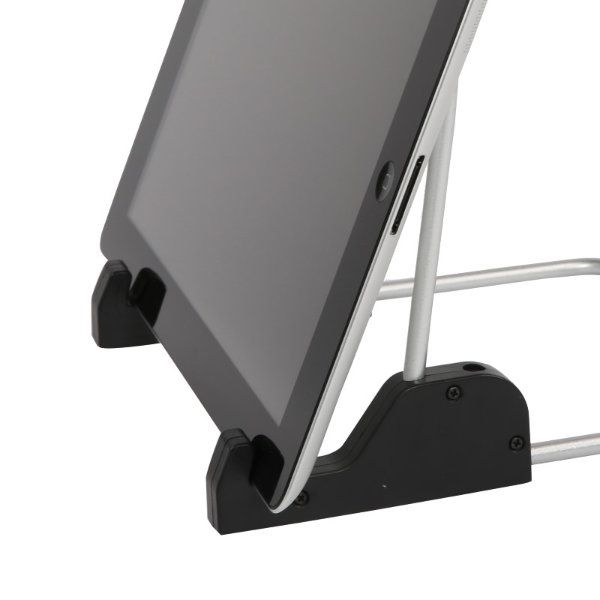 "9""-10"" Tablet Stand Fit for iPad & Tablet PC , Black"