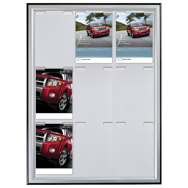 9x(8.5x11) Paper Board Frame Poster Capacity