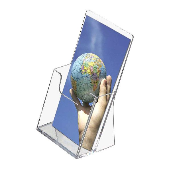"""Brochure - Leaflet Holder 3.9""""w x 8.2""""h 1 Pocket"""