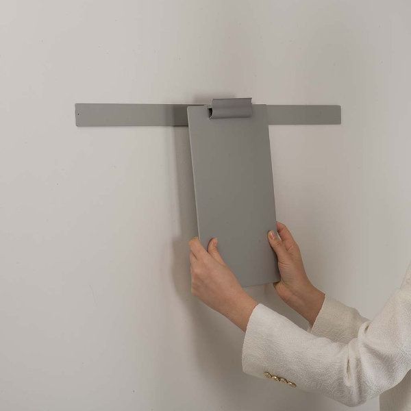 """Clip Board Grey, For 8.5""""w x 11""""h Papers Only Board"""