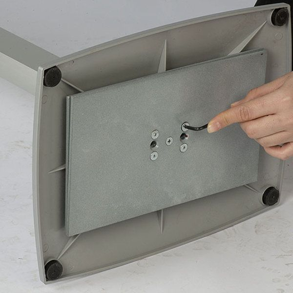 iPad Stand Extendable Kiosk Silver Aluminum Cover iPad2 iPad3