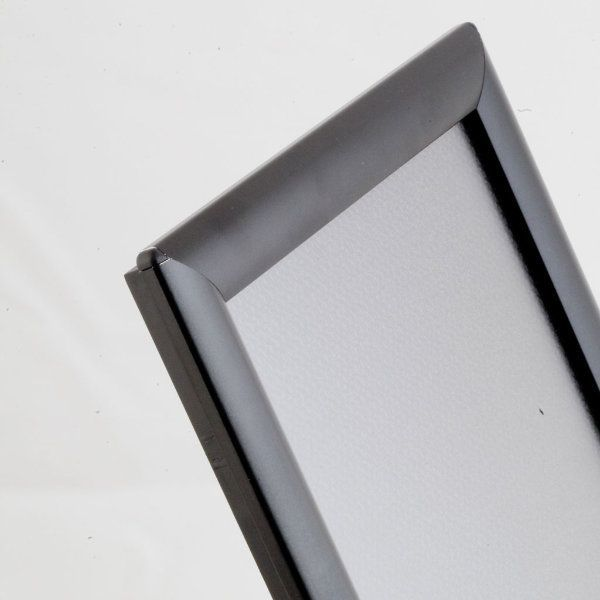 """Opti Frame 11"""" x 17"""" 1"""" Black Mitered Profile, Without Back Support"""