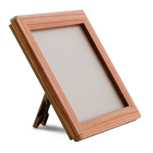 """Opti Frame 5"""" x 7"""" 0,55"""" Wood Effect Mitred Profile With Back Support"""