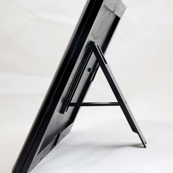 """Opti Frame 8.5"""" x 11"""" 1"""" Black Mitred Profile With Back Support"""