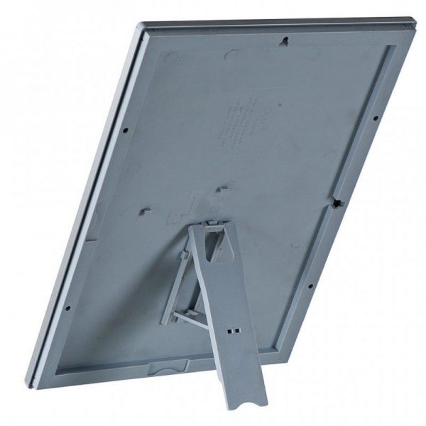 """Opti Frame 8"""" x 10"""" 0,55"""" Silver Mitred Profile With Back Support"""