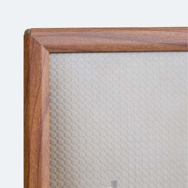 "Opti Frame 8"" x 10"" 0,55"" Wood Effect Mitred Profile With Back Support"