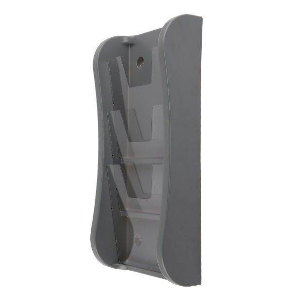 """Prime Wall Unit 3 Tiers, for 8.5"""" X 11"""" Graphics Gray"""