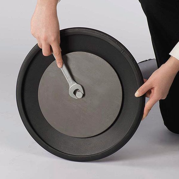 "Q Belt Black With 118"", Black, Retractable Belt"