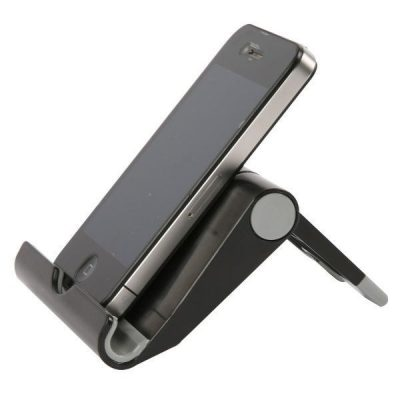 Tablet Stand Suitable for all Tablets & Smartphones, Black