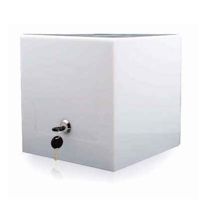 "Tumble Box 8""w x 8""h x 8""d Opaque"