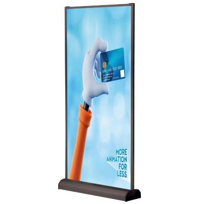 Wall Banner 39x78.75 Black Anodized