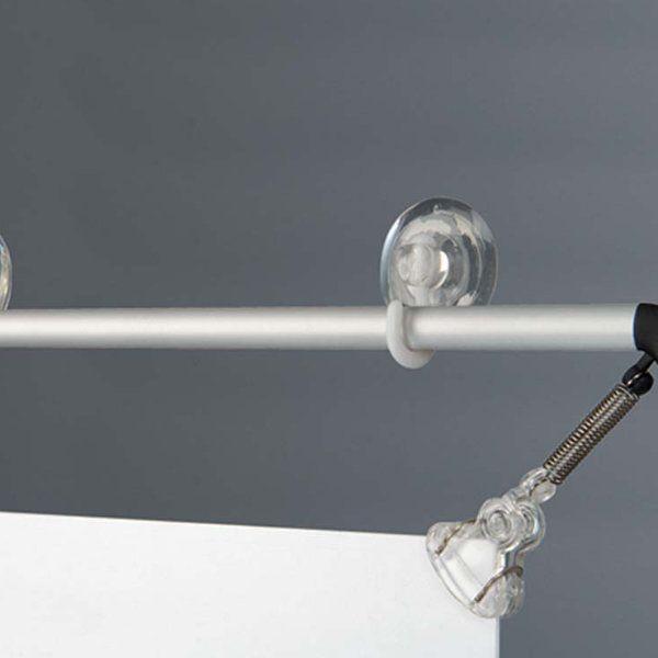 "22""w x 28""h Stretch Poster Holder - Silver Aluminum Profile"