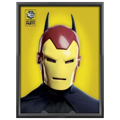 36x48 Snap Poster Frame - 1.77 inch Black Mitred Profile