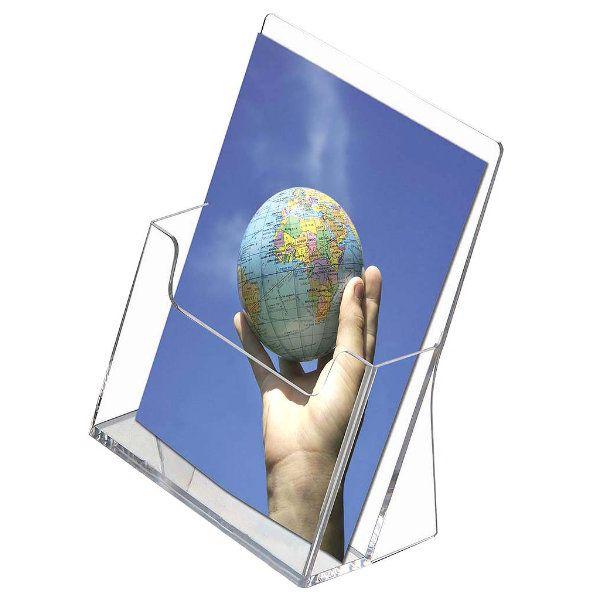 "Countertop Brochure & Leaflet Holder 5.5""w x 8.5""h"