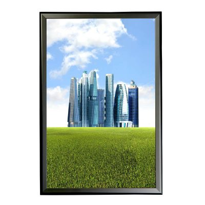 """1.25"""" Black profile Snap frame. Ideal for 24""""x36""""packed by 10"""