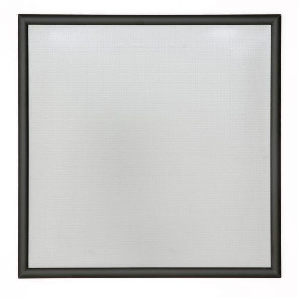 24x24 Snap Poster Frame - 1 inch Black Profile Mitered Corner
