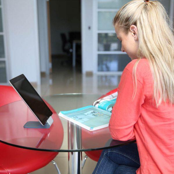 "5"" to 7"" Pocket Tablet Holder for Tablets and Smart Phones"
