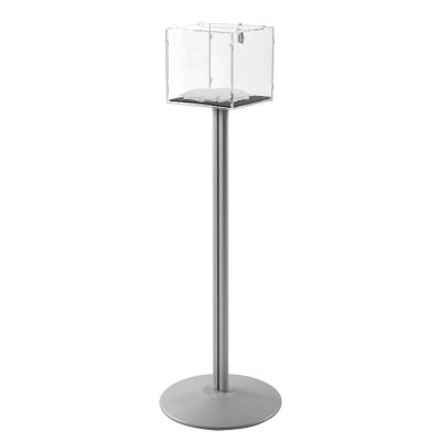"Clear locking Floor Stand 12""12"""