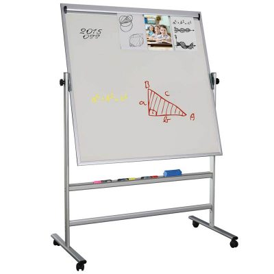 "Double sided magnetic Whiteboard 47.2""x35.4"""