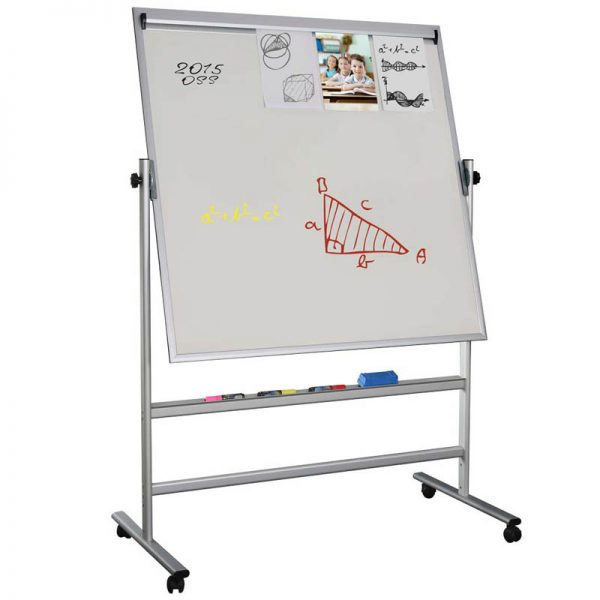 """Double sided magnetic Whiteboard 47.2""""x35.4"""""""