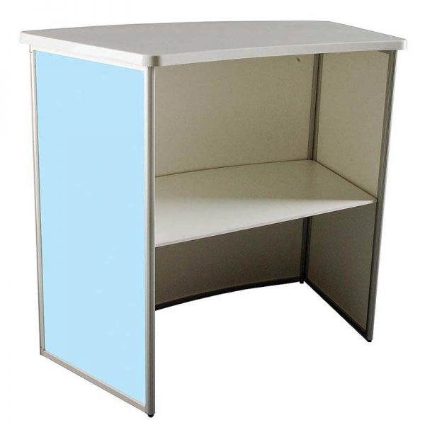 Midsize Convex Table Small PVC Foam
