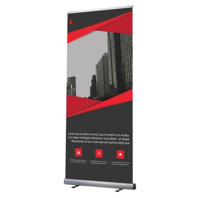 "Optima Roll Banner 24""x78,74"" with Bag"