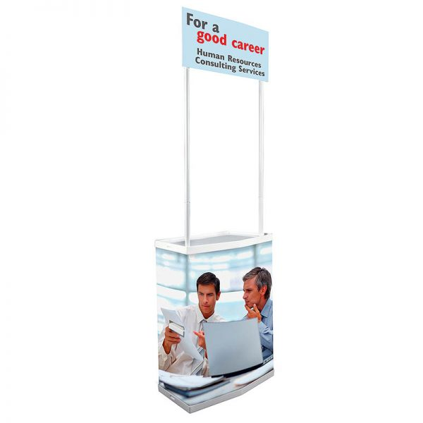 """Petit Promostand 27,56' 'x 15,35"""" x 35,43 """" with Bag"""