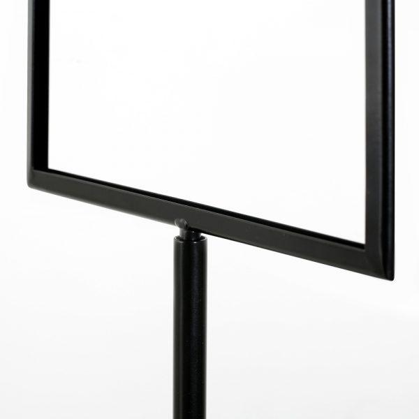 Floor-Sign-Holder-Black-Landscape-8.5x11-4