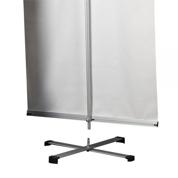 Cross Single banner adjustable height banner 23.5-9