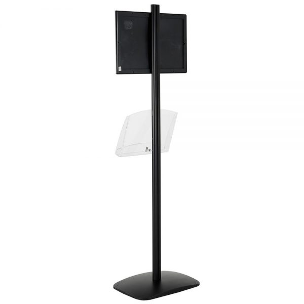 free-standing-stand-in-black-color-with-1-x-11X17-frame-in-portrait-and-landscape-and-1-2-x-8.5x11-clear-shelf-in-acrylic-single-sided-13