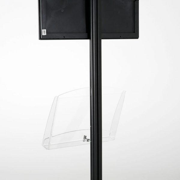 free-standing-stand-in-black-color-with-1-x-11X17-frame-in-portrait-and-landscape-and-1-2-x-8.5x11-clear-shelf-in-acrylic-single-sided-14