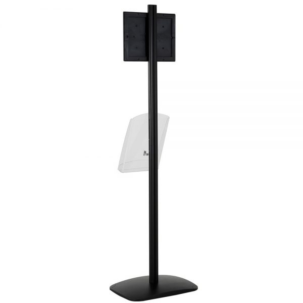 free-standing-stand-in-black-color-with-1-x-11X17-frame-in-portrait-and-landscape-and-1-x-8.5x11-clear-shelf-in-acrylic-single-sided-9