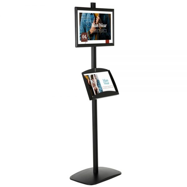 With 1 x (11X17) Frame In Portrait And Landscape And 2 x (5.5x8.5) Clear Pocket Shelf