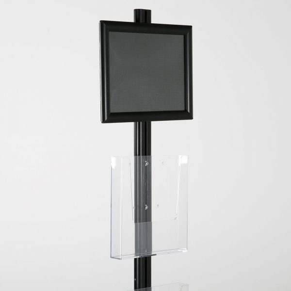 free-standing-stand-in-black-color-with-1-x-8.5X11-frame-in-portrait-and-landscape-and-2-x-8.5x11-clear-pocket-shelf-single-sided-17
