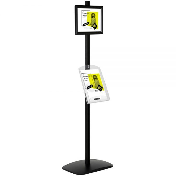 free-standing-stand-in-black-color-with-1-x-8.5x11-frame-in-portrait-and-landscape-and-1-x-8.5x11-clear-shelf-in-acrylic-single-sided-4