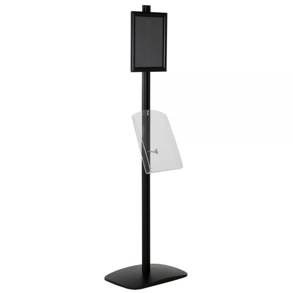 free-standing-stand-in-black-color-with-1-x-8.5x11-frame-in-portrait-and-landscape-and-1-x-8.5x11-clear-shelf-in-acrylic-single-sided-5